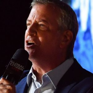 Bill de Blasio Asked Point Blank Why Eric Adams Is Not Running Off The Mayor's Record