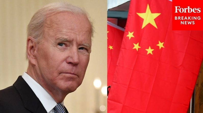 'A Threat That Goes Beyond Conservative And Liberal': GOP Senator Warns Biden Soft On China
