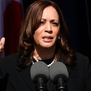 'We're Going To Keep Fighting For You': Kamala Harris Advocates For Build Back Better Agenda