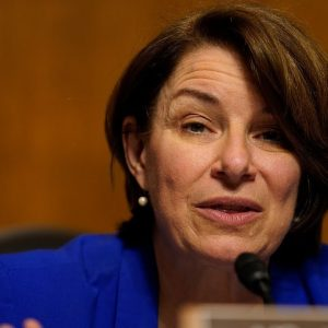 Amy Klobuchar Discusses Rise In Partner Violence During COVID-19 Pandemic