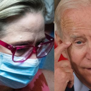 JUST IN: White House Clarifies Biden's Comments About Protester Following Into Sinema Bathroom