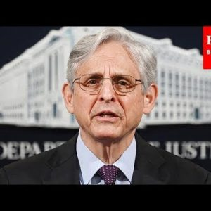 Merrick Garland Announces Support For John Lewis Votings Rights Advancement Act