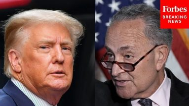 'Poisoned The Roots Of Our Democracy': Schumer Bashes Trump After GOP Filibuster Voting Rights Bill
