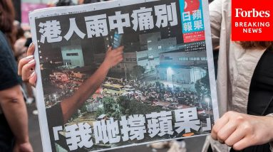Witness Details How China Shut Down Apple Daily, The Last Independent Newspaper In Hong Kong