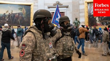 'Form Of Cancer': Officer Dismayed That Veterans Were Involved In Storming Capitol On Jan 6