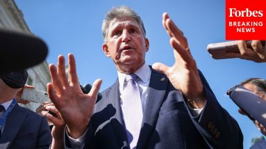 'It's Bulls—': Manchin Slams Report He's Planning To Leave Democratic Party