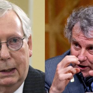 'Lobbyists Lining Up': Sherrod Brown Slams Mitch McConnell For Tax Cuts For Wealthy