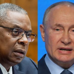 Lloyd Austin Chastises Russia, Calls On Putin To Withdraw From Crimea