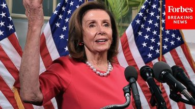 Pelosi: 'Times Have Found Us To Save Our Democracies'