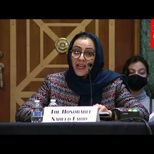 'The Taliban Can Not Be Trusted': Former Member Of Afghan Parliament Testifies In Front Of Congress