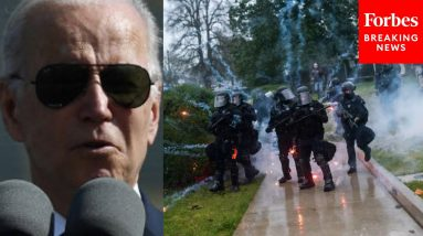 'Because Of You, Democracy Survived': President Biden Remembers Jan. 6 In Praise For Police Officers