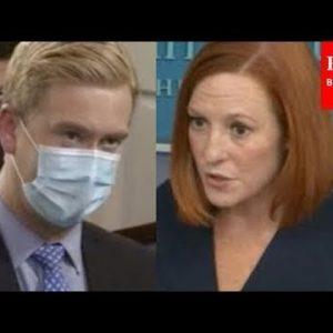 Reporter Presses Psaki On 'Broken Promise' On Justice Department Independence