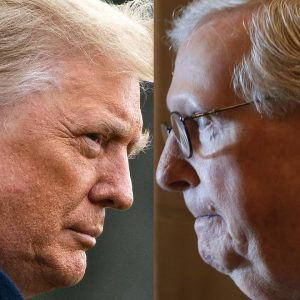 WATCH: Trump Blasts McConnell For Debt Ceiling Extension At Iowa Rally